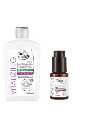 Farmasi Dr. C. Tuna Canlandırıcı Sarımsaklı Şampuan 500 Ml Ve Sarımsak Yağı 30 Ml