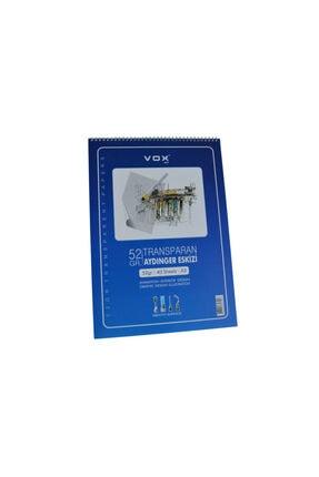VOX Aydınger Eskiz Çizim Defteri A3-52 gr. 40 Yaprak