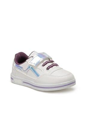 Polaris Kız Çocuk Beyaz Ayakkabı
