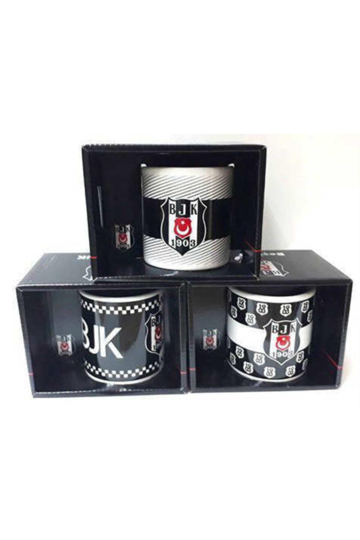 Beşiktaş Lisanslı Taraftar Orjinal Kutusunda Porselen Yapı Kupa Bardağı 2