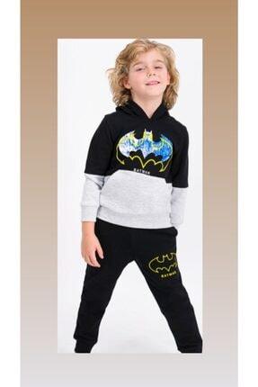 ROLY POLY Rolypoly Batman Erkek Çocuk Kapşonlu Eşofman Takımı
