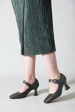 ALTINAYAK Kadın Haki Yeşil Ayakkabı