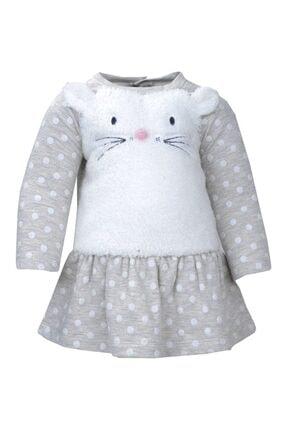 Zeyland Mininio Kedicikli Puantiyeli Elbise
