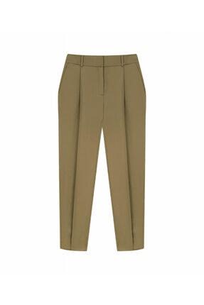 İpekyol Kadın Kahverengi Klasik Kesim Pantolon