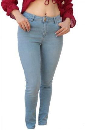 U.S. Polo Assn. Kadın Mavi Skinny Denim Pantolon