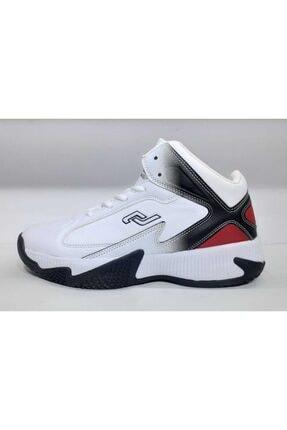 Jump 25528 Beyaz Erkek Basketbol Ayakkabısı (2020 Yeni Sezon)