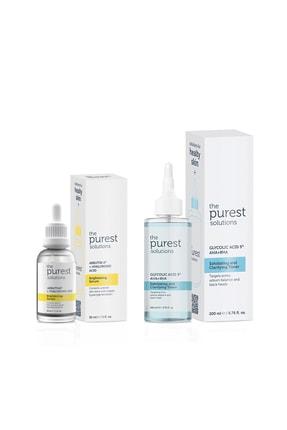 The Purest Solutions Koyu Leke Ve Gözenek Karşıtı Bakım Seti 200 ml + 30 ml