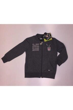 Kartal Yuvası Unisex Çocuk Gri Forma Beşiktaş Lisanslı Sweat Ceket 221