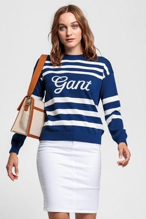 Gant Kadın Mavi Triko Kazak 4801138
