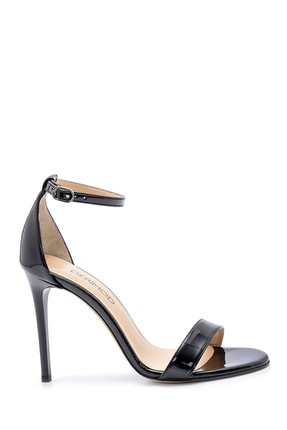 Derimod Kadın Siyah Topuklu Sandalet 21884