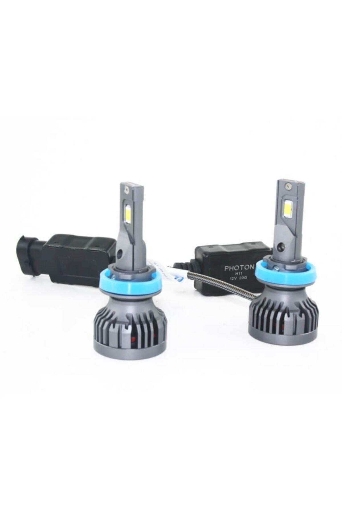 Photon H11 Led Xenon 9500 Lumens Ul2329-h11 2
