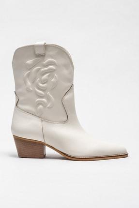 Elle Shoes Kadın Calbert Bej Bot & Bootie 20KDS53812