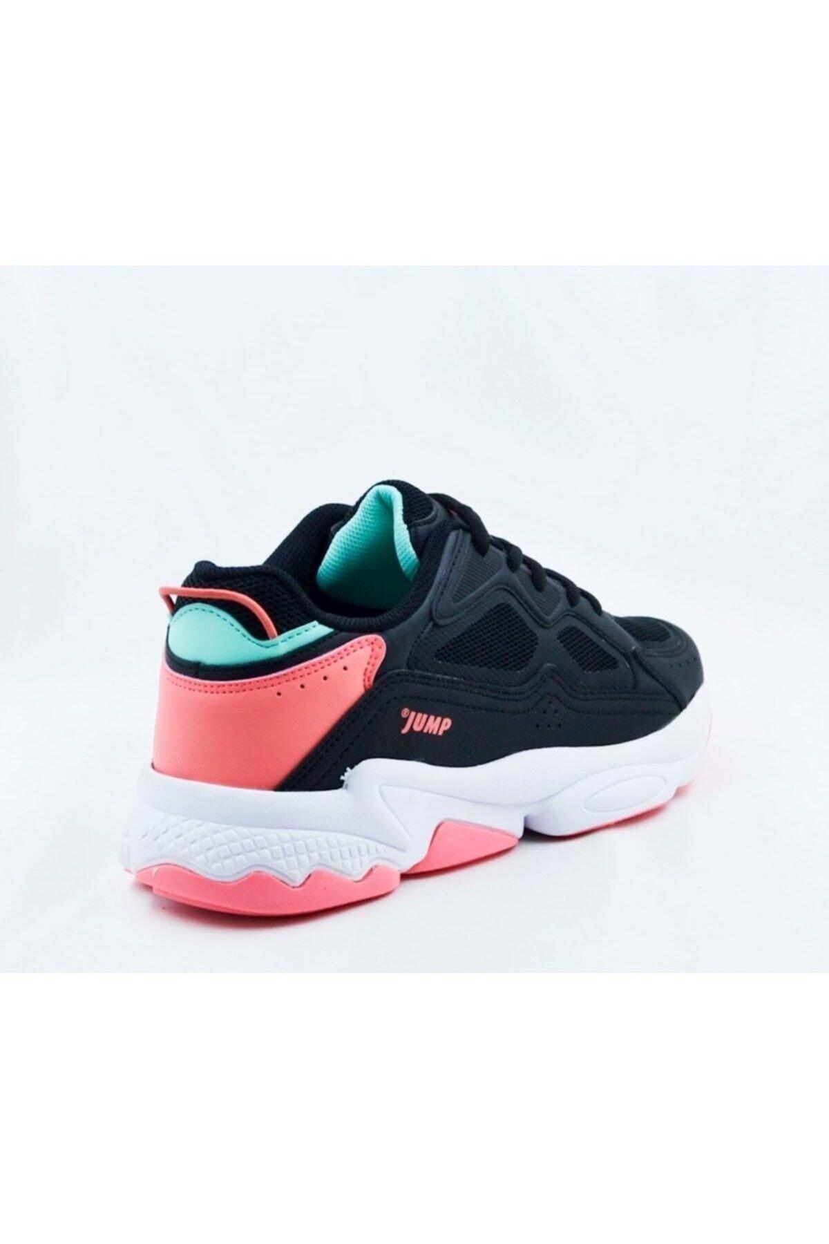 Jump Kadın Siyah Spor Ayakkabı 24711 2