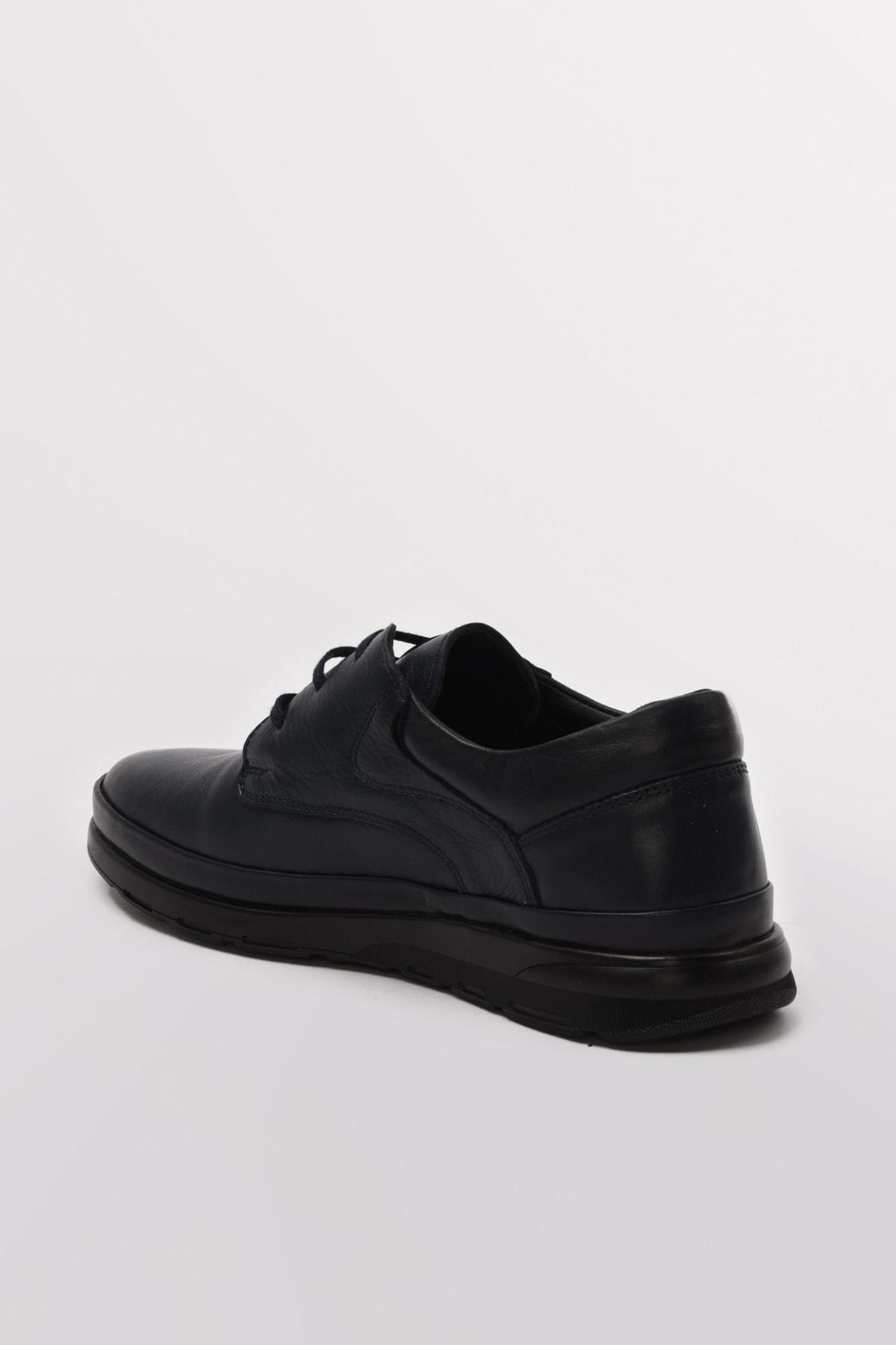 Hotiç Hakiki Deri Lacıvert Casual Ayakkabı 02AYY602590A680 2