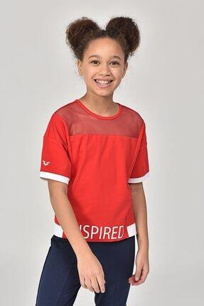 bilcee Kırmızı Kız Çocuk T-Shirt GS-8193