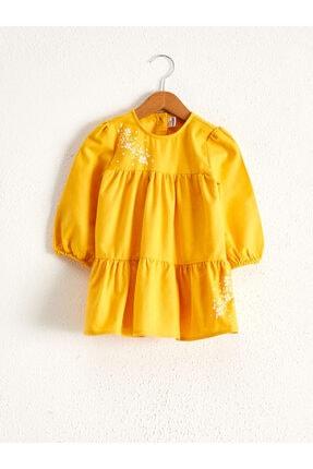 LC Waikiki Çocuk Sarı Elbise