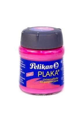 Pelikan Plaka Boyası Taş, Ahşap, Cam, Metal, Karton 50 Ml No:32 Red Violet (6 Lı Paket) Pl101089pkrv