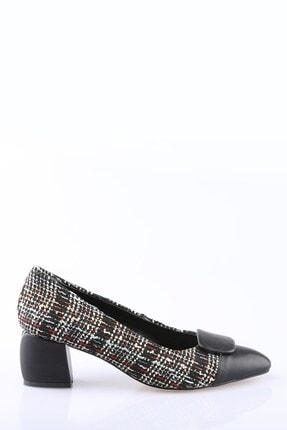 Buffalo Kadın Siyah Topuklu Ayakkabı