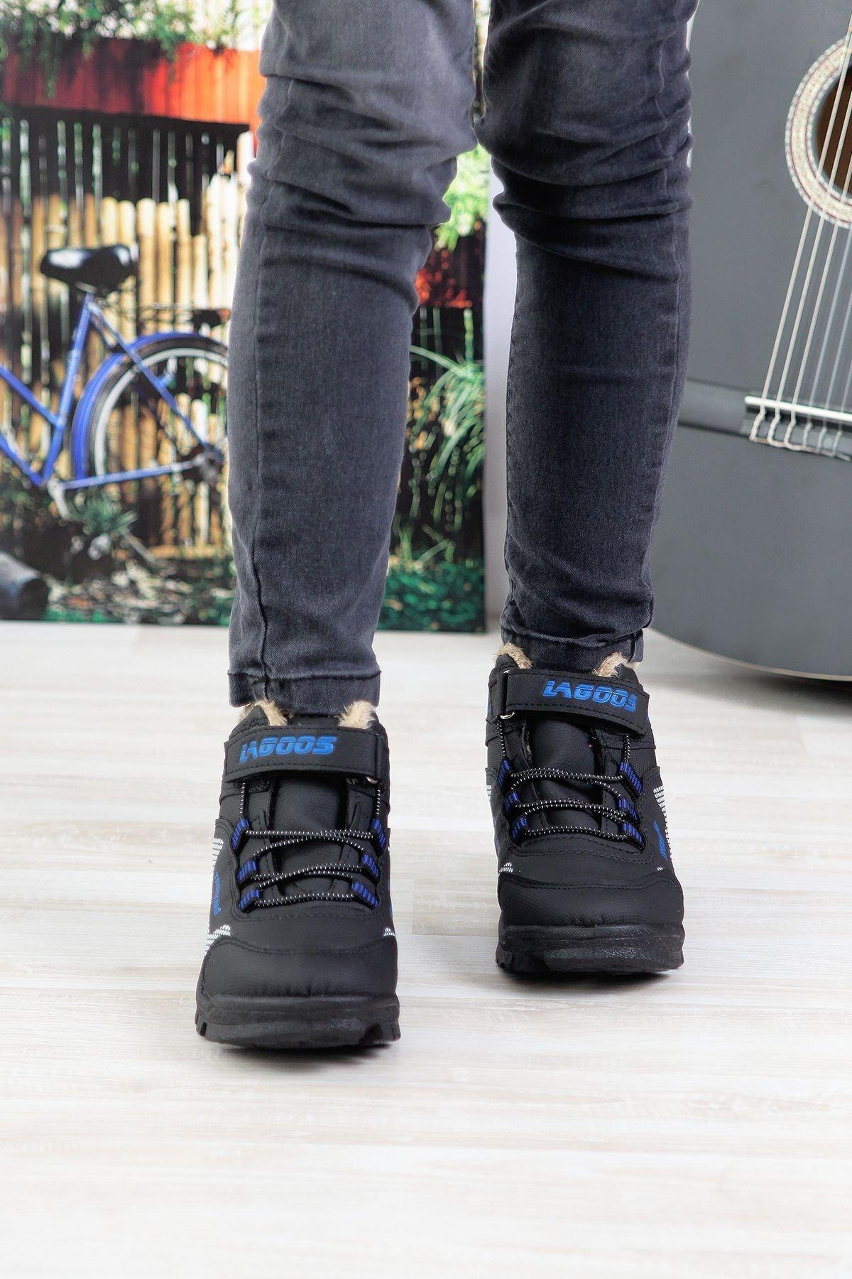 MODALİST Unisex Siyah Bot Ayakkabı 2