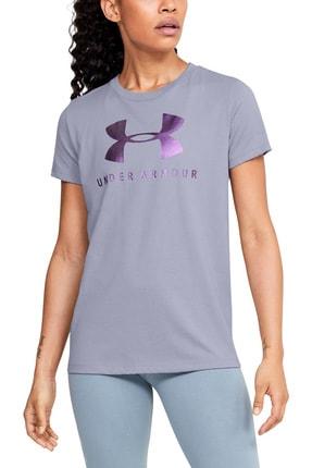 Under Armour Kadın Spor T-Shirt - Graphic Sportstyle Classic Crew - 1346844-555