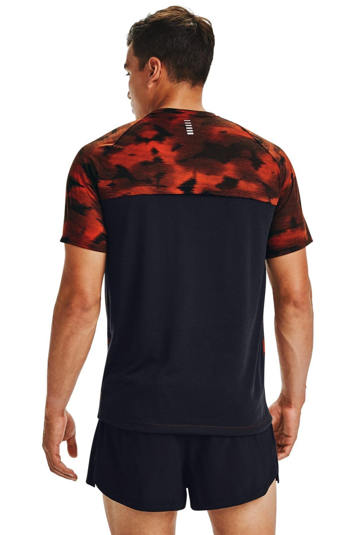 Under Armour Erkek Spor T-Shirt - M Streaker 2.0 Inverse Ss - 1356176-830 2