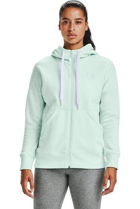 Under Armour Kadın Spor Sweatshirt - Rival Fleece Fz Hoodie - 1356400-403