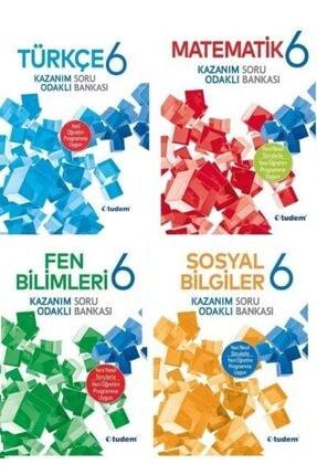 Tudem Yayınları Tudem 6.sınıf 4 Ana Branş Soru Bankası Seti