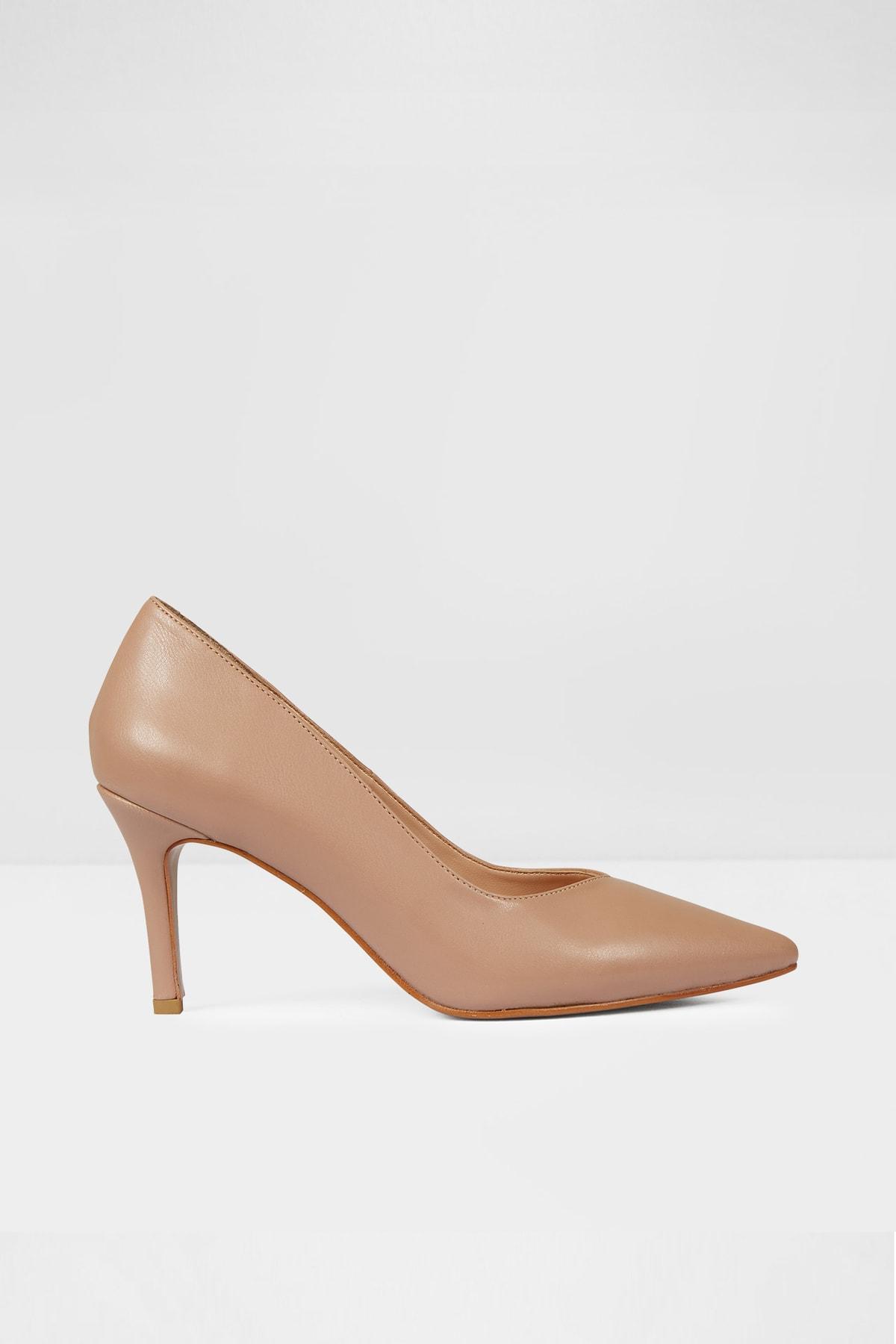 Aldo Kadın Bej Topuklu Ayakkabı 1