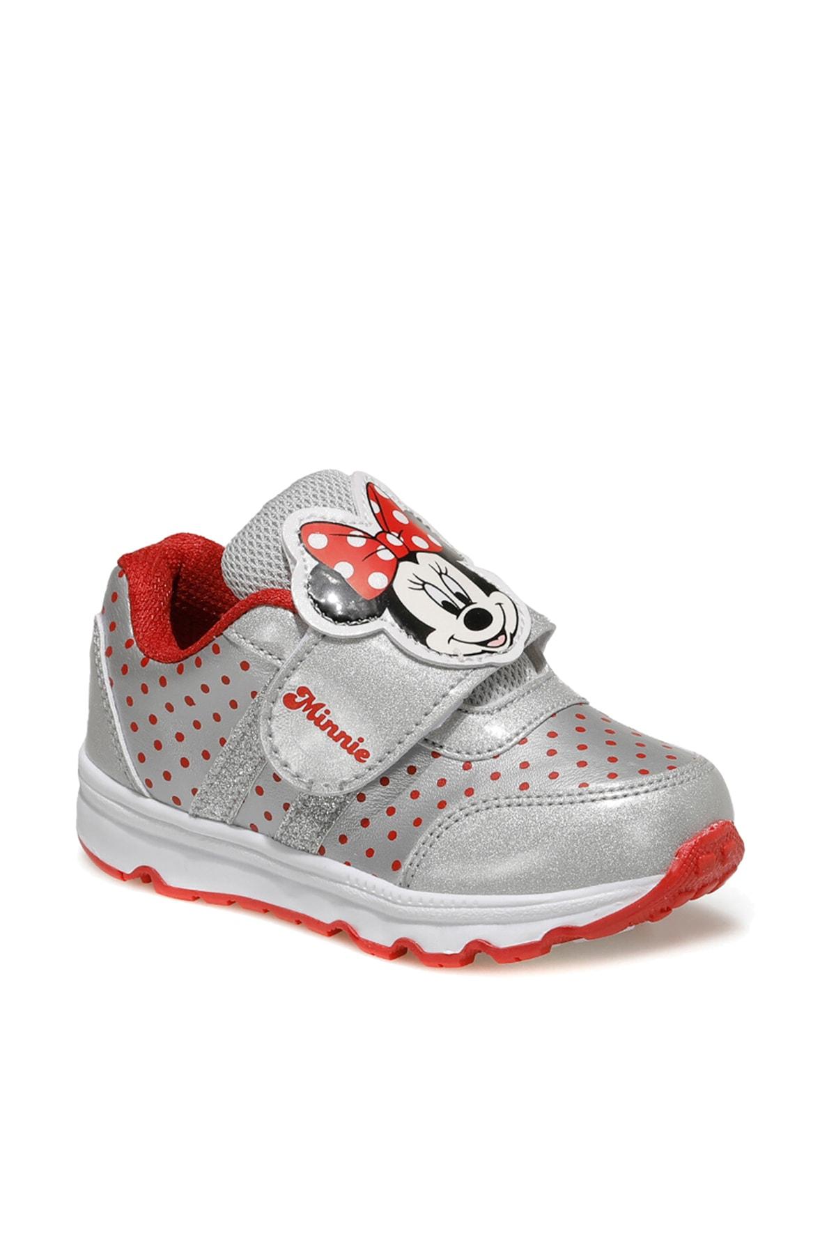 Mickey Mouse NIELY.B Gümüş Kız Çocuk Sneaker Ayakkabı 100561507 1
