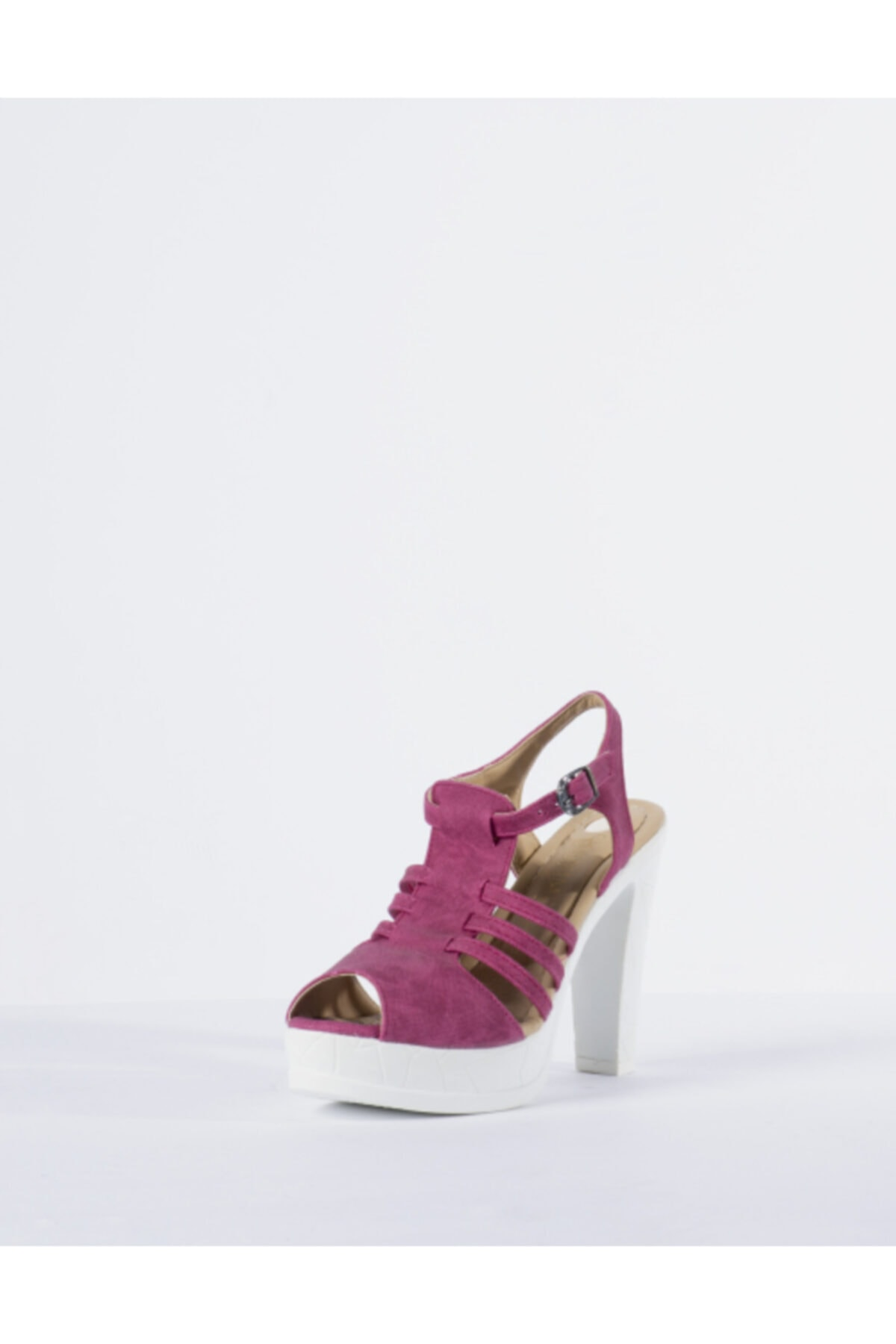Vision Kadın Pembe Topuklu Ayakkabı 2