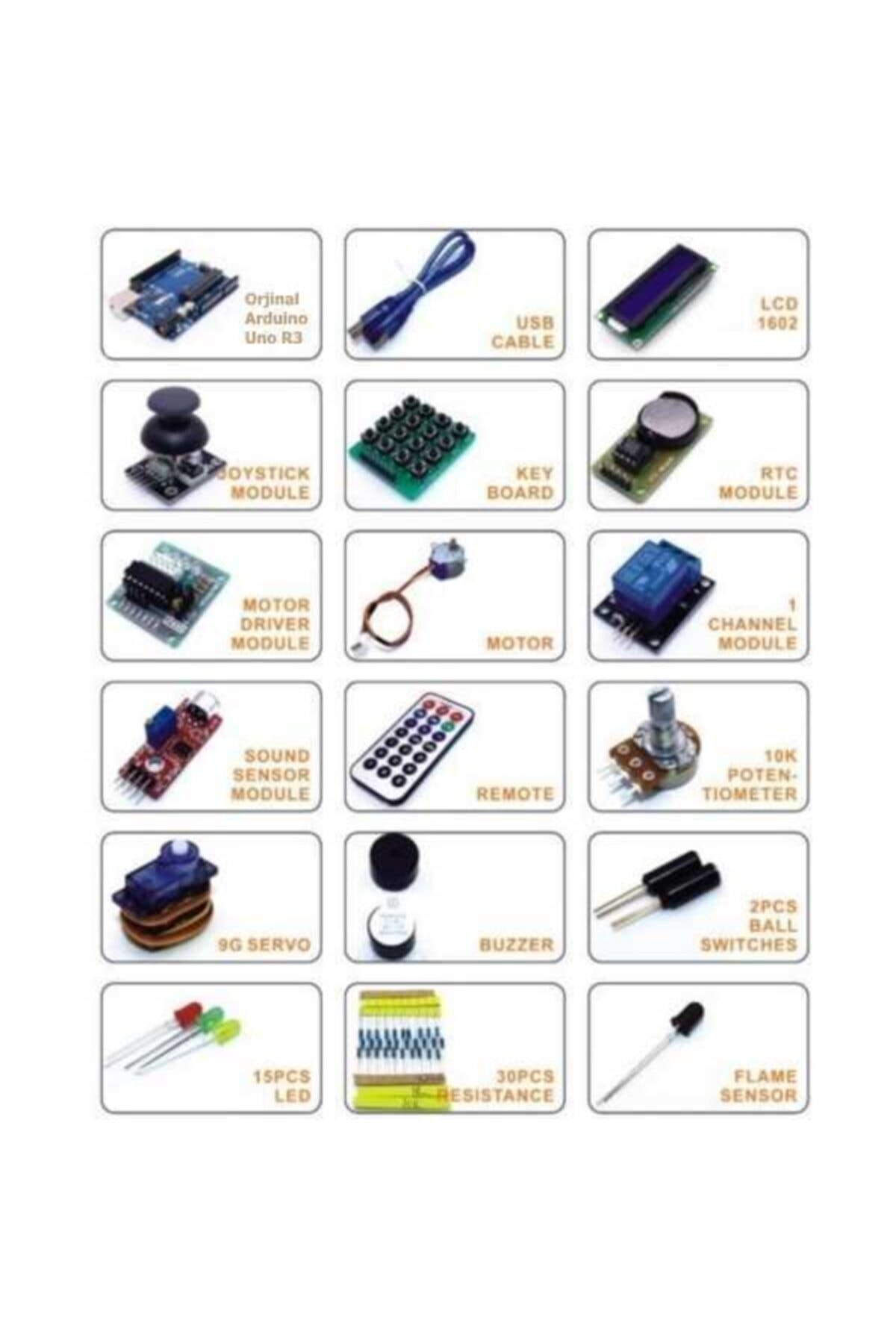 Robolink Teknoloji Orjinal Arduino Uno Rfıd Kit Seti 2