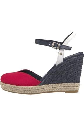 Tommy Hilfiger Yüksek Topuk Sandalet