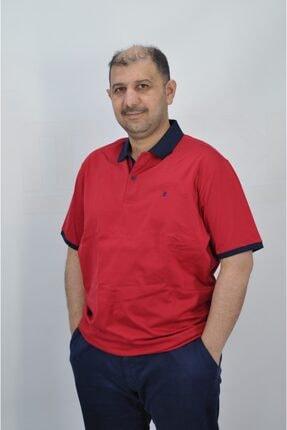 Pierre Cardin Erkek Kırmızı Polo Yaka Slim Fit Tişört