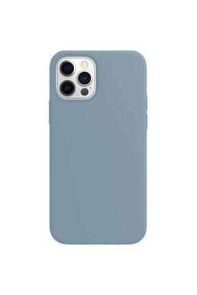 Buff Iphone 12 Pro Max Rubber S Kilif Ice Blue