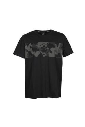lumberjack CT379 ARMY LOGO T-SHIRT Siyah Erkek T-Shirt 100928688