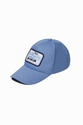 UCLA Joshua Mavi Baseball Cap Nakışlı Şapka