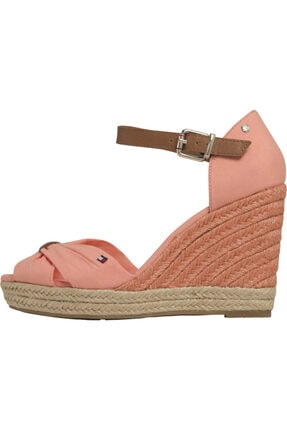 Tommy Hilfiger Basic Open Toe Yüksek Topuk Sandalet