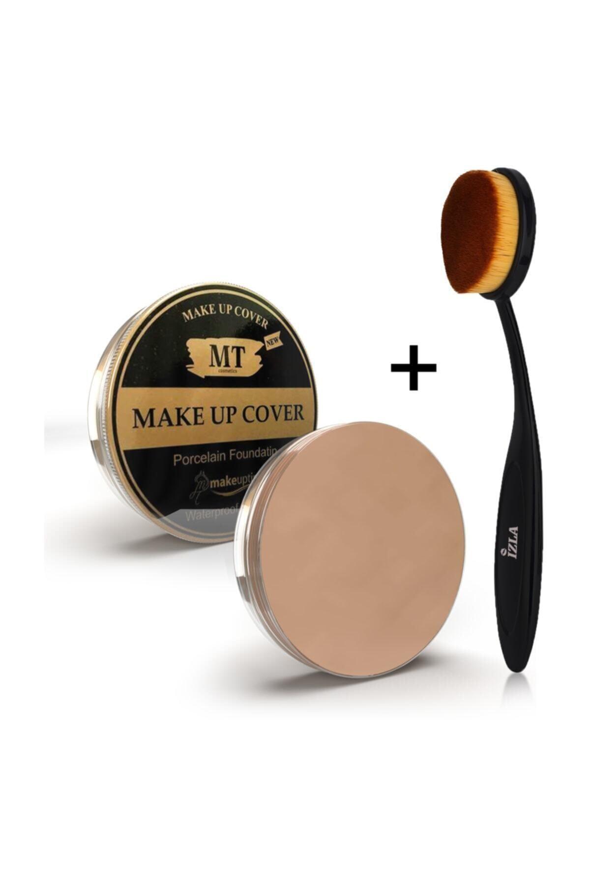Makeuptime Make Up Cover Kapatıc Kaşık Fırça 1
