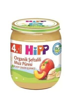 Hipp Boze Organik Şeftalili Muz Püresi 125 Gr