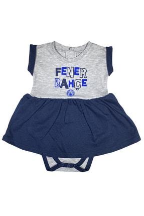 Fenerbahçe Kız Bebek Fenerbahçe Etekli Body %100 Orjinal - Fb1315