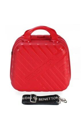 Benetton Unisex Kırmızı Makyaj Çantası Bntm103 Mkj