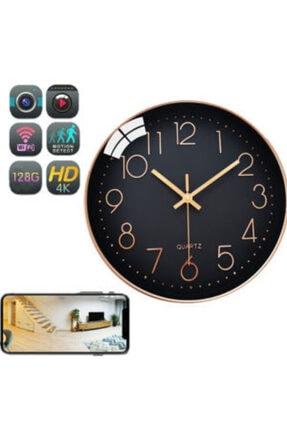 MEDEM Duvar Saati Gizli Cam Wıfı'lı 4k 1080p Full Hd Uzaktan Sınırsız Izleme Ip Saat Gizli Cam 10.000mah