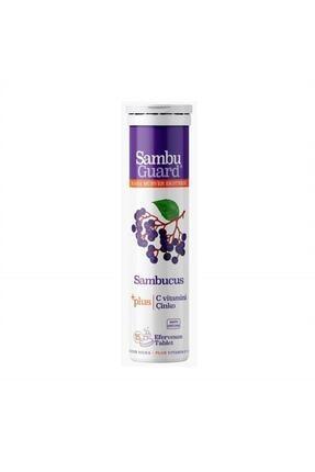 Sambucol Sambuguard Kara Mürver Ekstresi - Sambucus Plus 15 Effervesan Tablet
