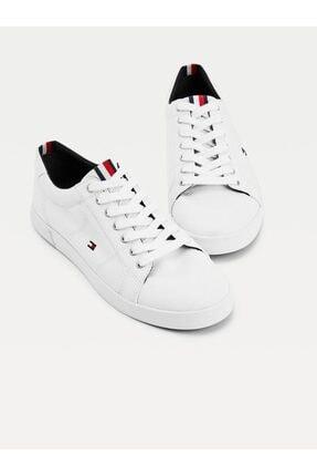 Tommy Hilfiger Erkek Beyaz Sneaker Iconıc Long Lace Sneaker FM0FM01536
