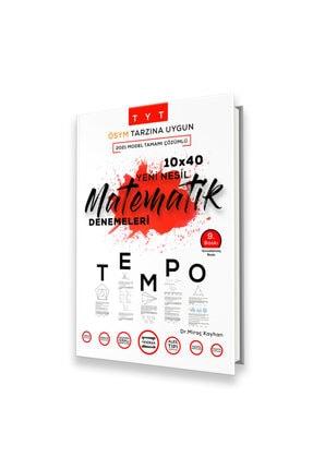 Fragman Yayınları 2022 Tyt 10x40 Tempo Matematik Denemeleri