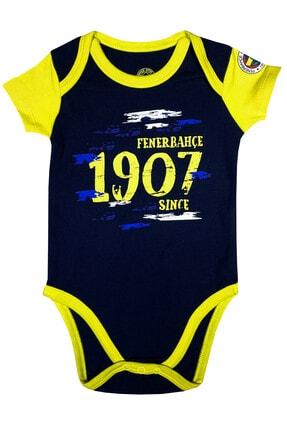 Fenerbahçe Bebek Lacivert Fenerbahçe  Kısakol Body %100 Orijinal - Fb1313