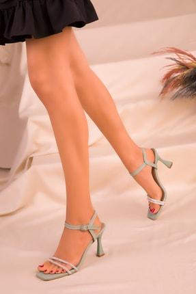 SOHO Yeşil Kadın Klasik Topuklu Ayakkabı 16000