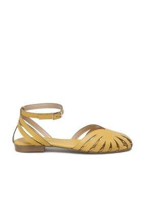 Butigo Devin 1fx Hardal Kadın Sandalet