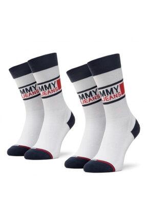 Tommy Hilfiger Erkek Çorap 2'li 100000398-001