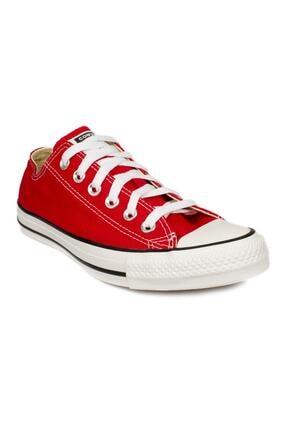converse Unisex Kırmızı Bağcıklı All Star Ox Ayakkabı M7652c